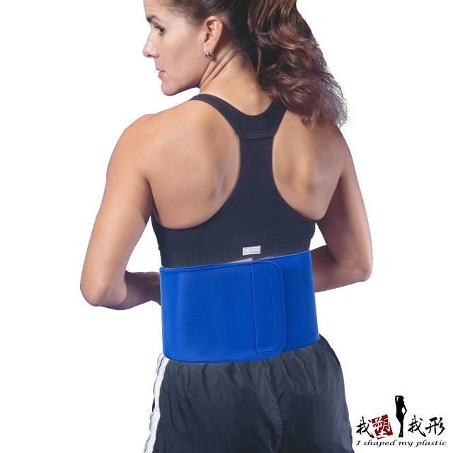 【我塑我形】台灣製-極塑爆汗體雕護腰帶-窄版(一件組)