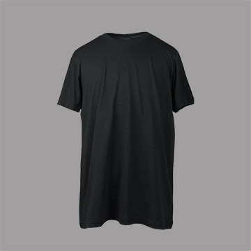 DORISE ARON 素面重磅短TEE T-00黑