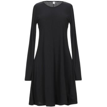 《セール開催中》ALTERNATIVE レディース ミニワンピース&ドレス ブラック S コットン 50% / レーヨン 50%