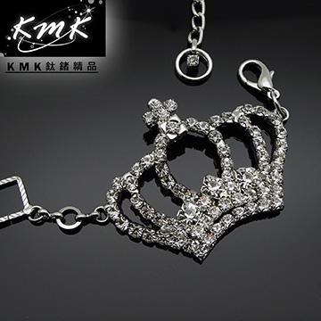 KMK鈦鍺精品《皇冠與宴會》服裝配飾腰鍊、項鍊