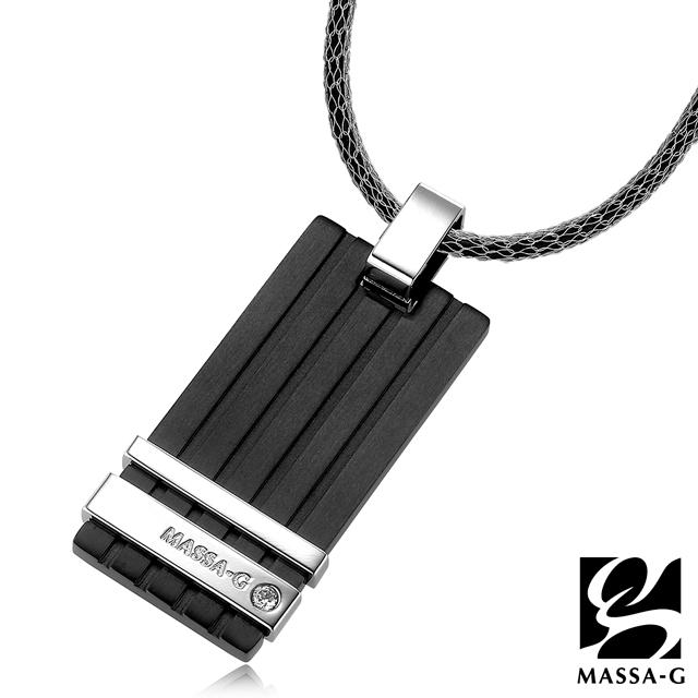 MASSA-G 法蘭斯之戀純鈦墬搭配X1mini 3mm超合金鍺鈦項鍊