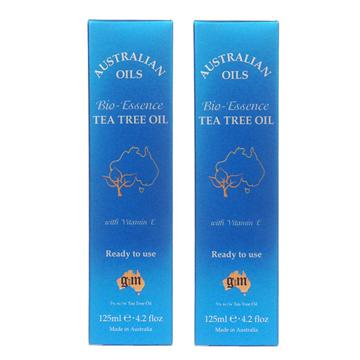 G&M 茶樹精華護膚油/身體油 125ml(2入)