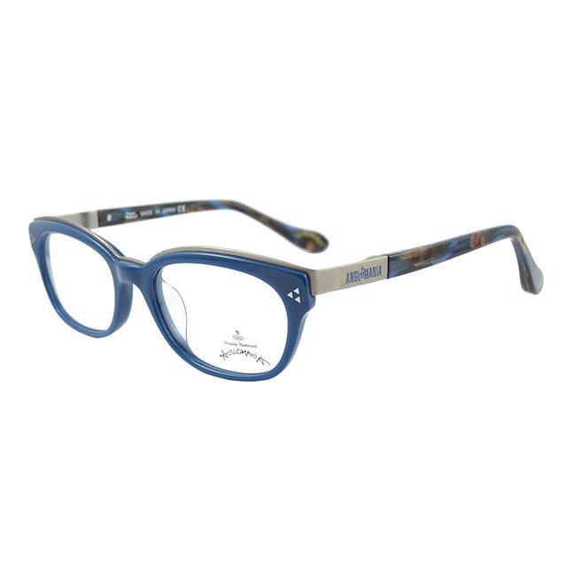 【Vivienne Westwood】英國Anglomania●金屬土星簡約光學眼鏡(孔雀藍) AN273-04