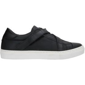 《セール開催中》DANIELE ALESSANDRINI メンズ スニーカー&テニスシューズ(ローカット) ブラック 40 革 / 紡績繊維