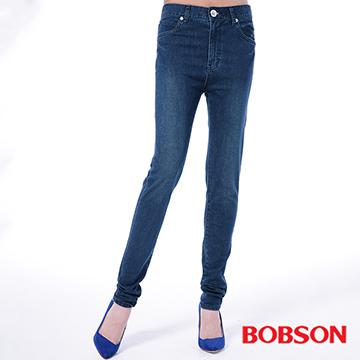 BOBSON 女款高腰膠原蛋白美肌褲