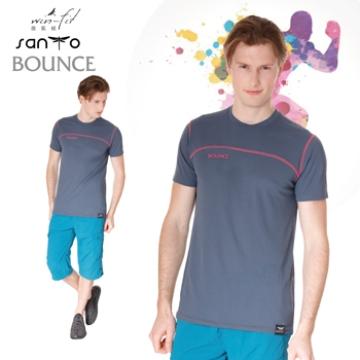SANTO win-fit 微氣候運動衫(特設款)-天王星灰-2XL