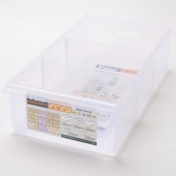 FINE 整理盒(隔板附屬 ) 11L 淺型款 LF1002 45x24.3x12.8cm