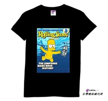 simpson Nirvana進口美式卡通短T/ROCK/RETRO/ANVIL/HANES圓筒T