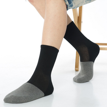 【KEROPPA】可諾帕竹碳運動型健康男襪x綜合5雙C90013-A