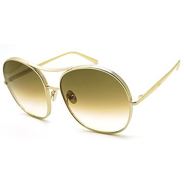 CHLOE飛官款 太陽眼鏡  淡金色 CE128S-750