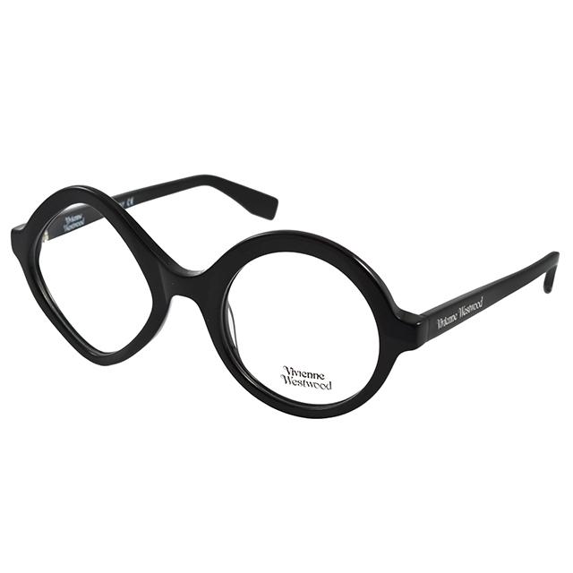 Vivienne Westwood 英國薇薇安魏斯伍德不規則造型光學眼鏡(黑)VW966C05