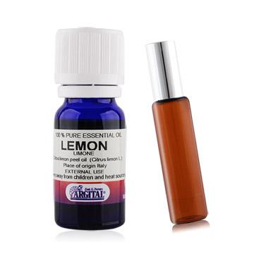 LERBOLARIO 蕾莉歐 檸檬精油(10ml)+贈玻璃滾珠空瓶