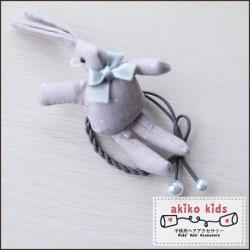 【akiko kids】棉麻卡通動物造型兒童髮圈