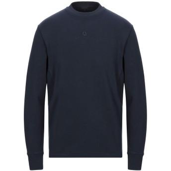 《セール開催中》BELSTAFF メンズ スウェットシャツ ダークブルー S コットン 100%