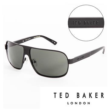 TED BAKER 倫敦個性男士質感造型太陽眼鏡(黑) TB1241001