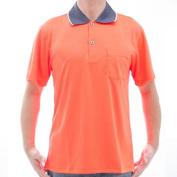 SAIN SOU 聖手牌 台灣製吸濕排汗速乾短袖POLO衫 T26536-09