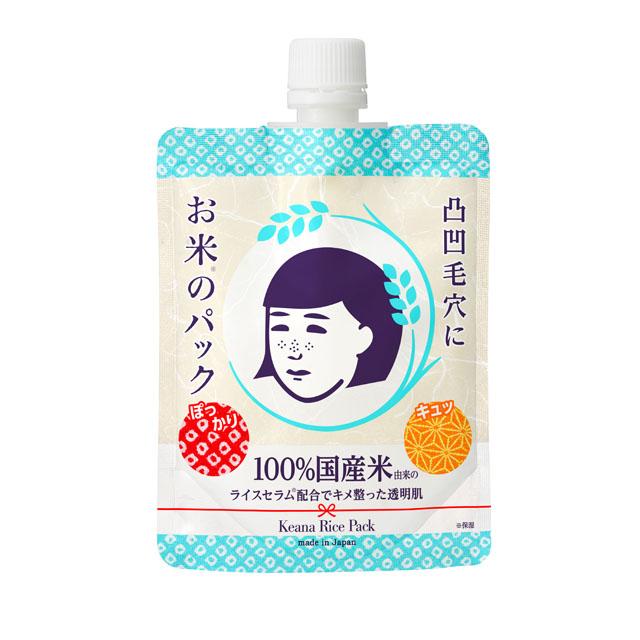 石澤研究所 毛穴撫子 日本米精華水洗面膜 170g