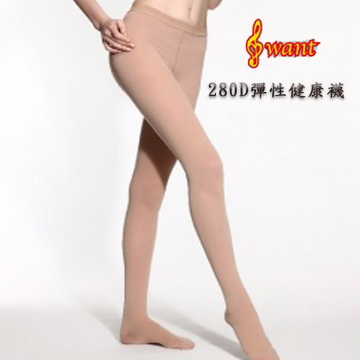 I want 280丹彈性健康襪-膚色(L)