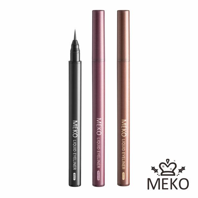 【MEKO】絕色媚眼防水眼線液筆(共3色) #極致黑