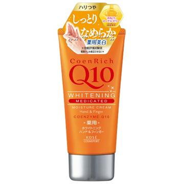 日本KOSE Q10活齡深層保濕護手霜80g