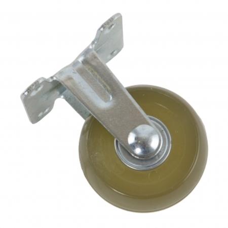 2吋PU耐磨型固定透明輪四角-25KG