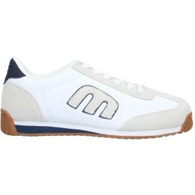 《セール開催中》ETNIES メンズ スニーカー&テニスシューズ(ローカット) ホワイト 6 革 / 紡績繊維