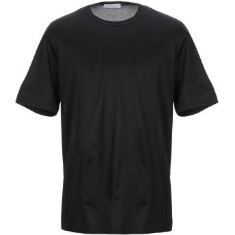《セール開催中》GRAN SASSO メンズ T シャツ ブラック 44 コットン 100%