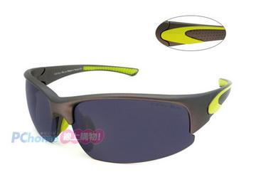 COOL-SUN 輕舒適運動包覆偏光太陽眼鏡 舒適防滑鼻墊設計 8457B 中童 小臉皆適合 配戴穩定舒適