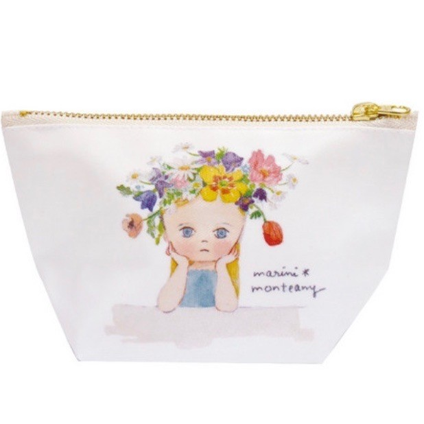 [HUAYUE] Ecoute 可愛女孩插畫化妝包