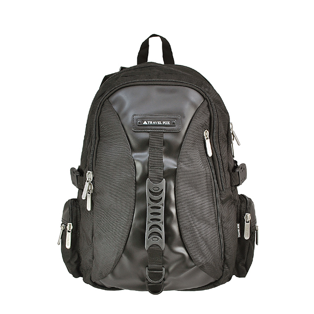 【TRAVEL FOX 旅狐】多功能旅行大容量電腦後背包 (TB507-01) 黑色