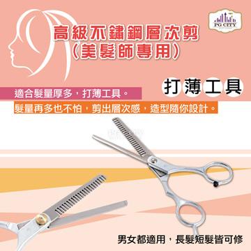 PG CITY 高級不鏽鋼層次剪 SK-904 美髮師專用 (一入)