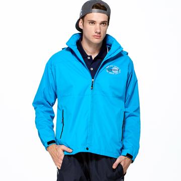 聖手牌 外套 藍色系 連帽運動休閒外套 T27425