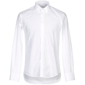 《セール開催中》,BEAUCOUP メンズ シャツ ホワイト M コットン 100%