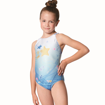 【SAIN SOU】競賽/泳隊女童連身三角泳裝附矽膠泳帽A87502