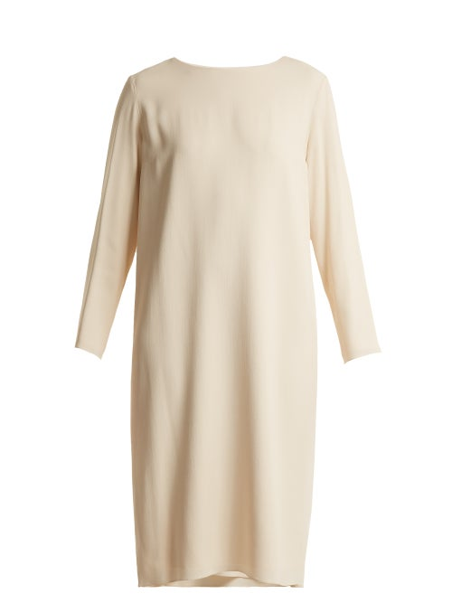 The Row - Larina Crepe Tunic Dress - Womens - Cream