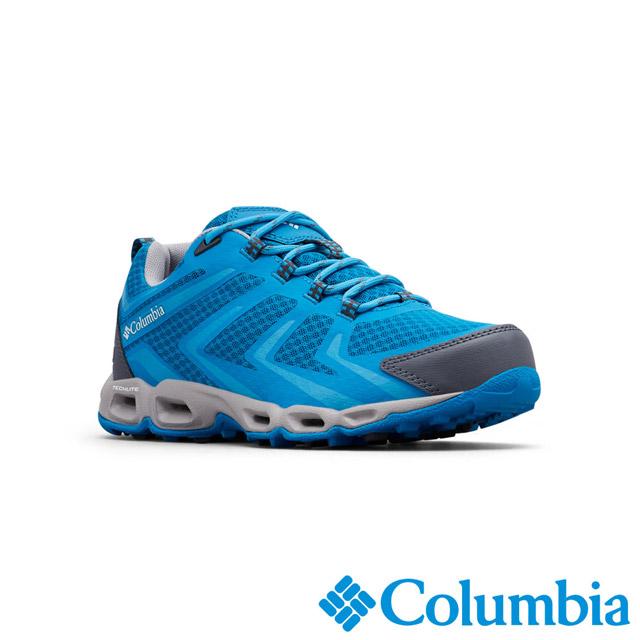 Columbia哥倫比亞 女款-OD防水健走鞋-藍色 UBL46000BL