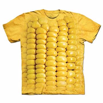 『摩達客』(預購) 美國進口【The Mountain】自然純棉系列 玉米條 T恤