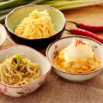 【小潘】芽片泡菜(微辣)+海帶絲(小辣)各1瓶