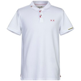 《セール開催中》PROJECT E メンズ ポロシャツ ホワイト S コットン 100%