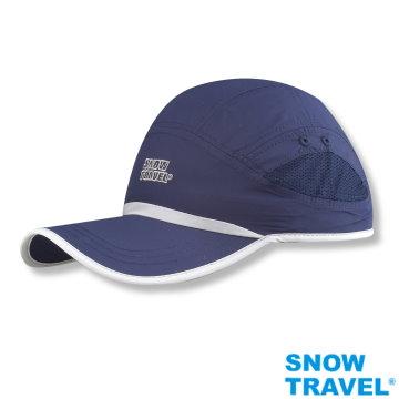 【SNOW TRAVEL】抗UV透氣快乾棒球帽(進口HIGH-IQ抗 UV40布料)AH-14(2件組)