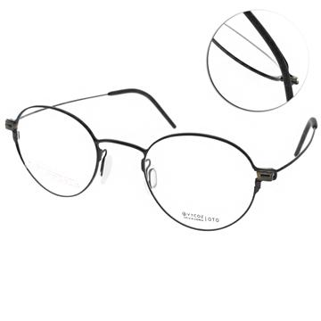 VYCOZ 眼鏡 輕盈鈦金屬系列 黑 OTO BLK