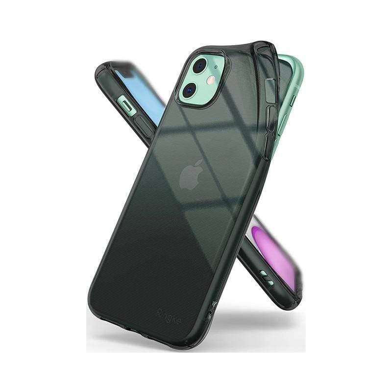 Apple iPhone 11 (Ringke Air) 輕薄保護殼-透黑