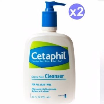 Cetaphil 舒特膚 溫和清潔乳 591ml (20oz) 兩入組