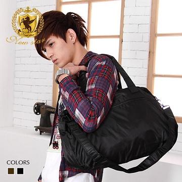 肩背包 NEW STAR 霧面輕量尼龍旅行袋 側背 托特包【BL30】