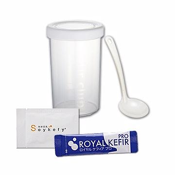 ROYAL KEFIR PRO(10包)+Soykefy®(10包)加贈優格罐1個