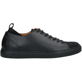 《セール開催中》LEVIUS メンズ スニーカー&テニスシューズ(ローカット) ブラック 44 革