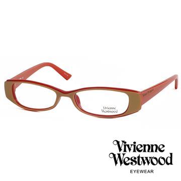 Vivienne Westwood 薇薇安.魏斯伍德 個性簡約光學眼鏡(紅色) VW19204