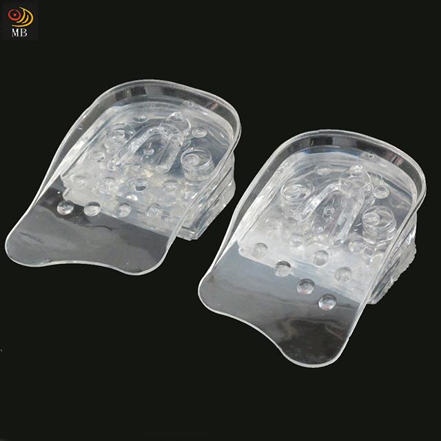 月陽5層分離式柔軟矽膠隱形增高墊鞋墊(SH505)