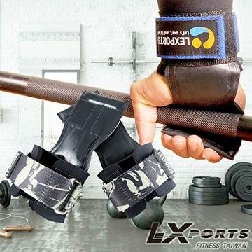 LEXPORTS Power Gripps PRO/FIT 皮革專業拉力帶(正義騎士)/助力帶