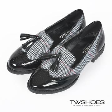 台灣鞋網‧英倫麥穗流蘇設計經典樂福鞋-灰【K160B2766】